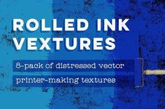 cool Rolled Ink Vextures 8-Pack  CreativeWork247 - Fonts, Graphics, Themes,...