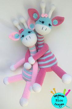 Giraffe Crochet, Crochet Bunny Pattern, Crochet Teddy, Crochet Patterns Amigurumi, Amigurumi Doll, Crochet Animals, Crochet Dolls, Crochet Baby, Sock Crafts