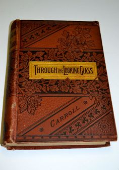Through the Looking Glass Lewis Carroll. Circa by UrbanAntiquities, $25.00