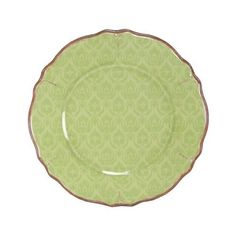 Louis Damask Sage Green Le Cadeaux Melamine Dinnerware, Salad Plate by Le Cadeaux. $12.99. Designs inspiOrange by French and Italian pottery, purposely crafted with a distressed look. Not Microwave safe (melamine never is). approx 9 inches. Dishwasher safe-Triple weight, tested for durability. Safe enough for children. Heavy and durable special melamine, triple weight to ensure strength and resist shattering. Dishwasher safe, but not microwave safe (Melamine never is micro wa...