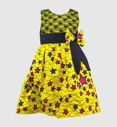 Ankara Styles For Kids, African Dresses For Kids, African Fashion Dresses, Fashion Outfits, African Kids, Ankara Fashion, Dashiki Dress, Ankara Dress, Casual Dresses