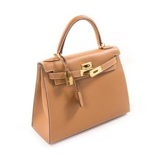 31e58a627b Shop authentic Hermès Kelly 28 Sellier Gold Chamonix Calf at REVOGUE for just  USD 7