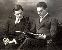 Wittgenstein with his brother, Paul