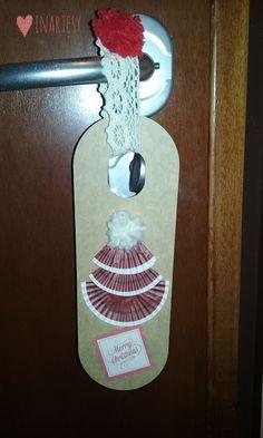 ♡ Come creare dei cartellini da appendere alla porta