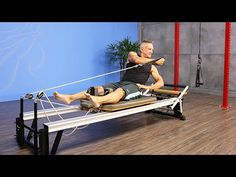 Roll Down with Punches on Reformer - YouTube