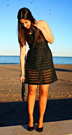 Vacaciones en Plutón: Little Black Dress for Spring Events #kissmylook