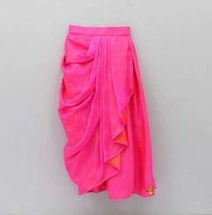 Pre Order: Peplum Top With Drape Saree Style Skirt Baby Girl Party Dresses, Dresses Kids Girl, Party Wear Dresses, Kids Dress Wear, Kids Gown, Kids Wear, Baby Frocks Designs, Kids Frocks Design, Kids Lehenga