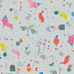 party animals  //  lizzie mackay for blend via print & pattern