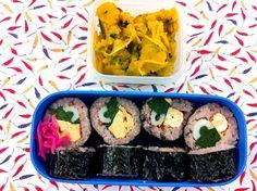 レシピはプロフィールのDE-OILブログをどうぞ - 7件のもぐもぐ - 巻き寿司とかぼちゃサラダのお弁当 by deoil518