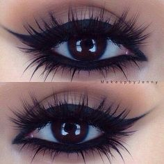 The thick eyeliner kinda reminds me of a  Cleopatra-ish look, but I like it!