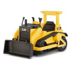 Cat Bulldozer, Bulldozer Cake, Caterpillar Toys, Yellow Cat, Tractor Supplies, Outdoor Fun, Outdoor Baby, Cat Toys, Kids Toys