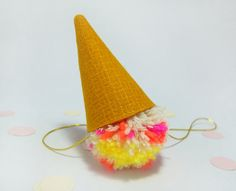 Birthday Party Cone Hat by PetiteFetti