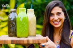 3 Easy & Delicious FullyRaw Smoothie Recipes! It's day 8 of the challenge and time to celebrate! Who is ready to have a little fun?! http://youtu.be/ZWaNqUBshDY