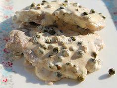 Filetto di carne al pepe verde