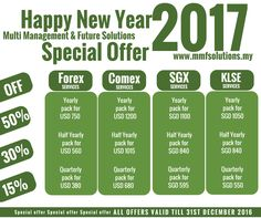 On the arrival of this #NewYear, we have come up with pleasant offer for traders.Hurry up #traders & get this fabulous opportunity.Register here: www.mmfsolutions.my