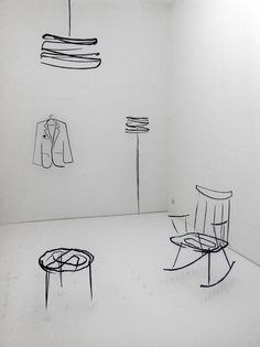 """This is the kind of styling I call """"Not friends"""" or """"Not on speaking terms"""". From, Lambrate, Milan Design Week 2012"""