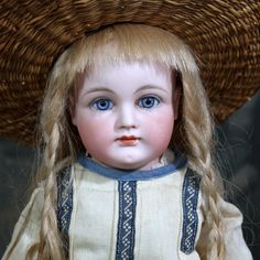 Early Closed Mouth Kestner Child from signaturedolls on Ruby Lane