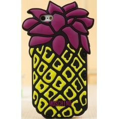 Grab this Moschino Pineapple Design Silicon Case for iPhone 5 to spruce up your cell phone with an innovative cover that adds dimension and charm to your device while keeping it well protected at the lowest wholesale price just here!  http://www.icase-zone.com/moschino-pineapple-design-silicon-case-for-iphone-5-p-650.html