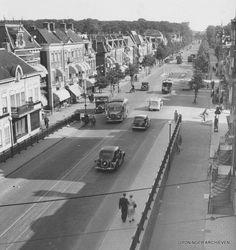 Herewegviaduct, zuidelijke helling, 1937