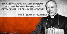 kard. Stefan Wyszyński #quotes #cytaty