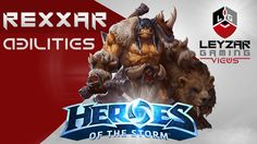 Heroes of the Storm - Rexxar Gameplay (Abilities Spotlight)