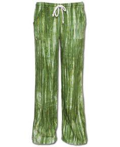 Soul Flower - NEW! Green as Grass Beach Pants - $42.00