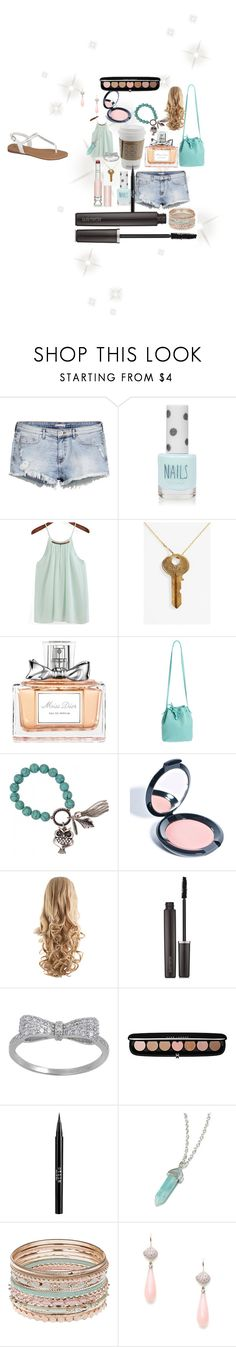 """Some of its in my purse!😄"" by lilyjoyp ❤ liked on Polyvore featuring H&M, Topshop, The Giving Keys, Christian Dior, Mint & Rose, Retrò, Rituel de Fille, Laura Mercier, Marc Jacobs and Stila"