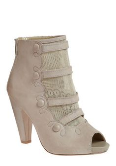 Beauty has an uncanny way of making us lose our minds...I think I just might go crazy over these booties from Modcloth