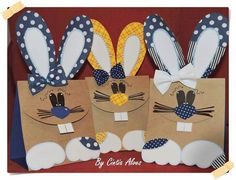 Pascuas Bunny Crafts, Easter Crafts, Easter Art, Easter Bunny, Crafts To Make, Crafts For Kids, Paper Purse, Crochet Rabbit, Daycare Crafts