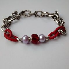 Red Missing Link for X by Trollbeads