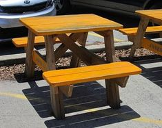 23 Marvelous Camping Table And Chairs Portable Camping Tables Folding Octagon Picnic Table, Diy Picnic Table, Picnic Table Plans, Porch Table, Kids Picnic, Outdoor Table Plans, Gazebo Plans, Gazebo Pergola, Gazebo Ideas