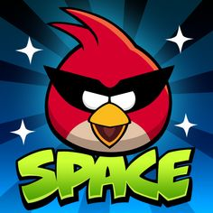 Angry Birds Space...actually all of the Angry Birds games.