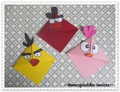 Zakładki do książek DIY minionki, angry birds Angry Birds, Diy, Gifts, Bricolage, Do It Yourself, Homemade, Diys, Crafting