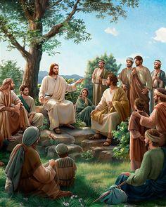 Images Du Christ, Images Bible, Bible Pictures, Jesus And Mary Pictures, Pictures Of Jesus Christ, Mary And Jesus, Jesus Christ Painting, Jesus Artwork, Jesus Is Risen