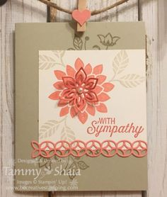 Stampin Up! Flourishing Phrases