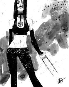 X-23 por Matteo Scalera