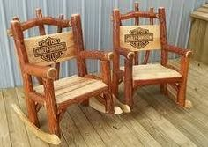 Nice rocking chairs!  Harley-Davidson of Long Branch  www.hdlongbranch.com