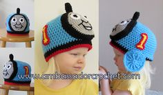 Engine 1 aka Thomas, by Ambassador Crochet. This pattern is free and available on Ravelry