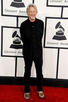 Lifetime Achievement Award recipient Kris Kristoffersonarrives at the 56th Annual GRAMMY Awards on Jan. 26 in Los Angeles