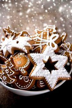 Christmas cookies Beautiful gingerbread  ToniKami ℬe Meℜℜy