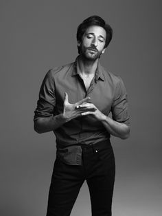Adrien Brody by Georges Antoni...he has that timeless sex appeal...not the cutest face but sexy as hell..!!!