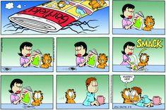 Garfield   Daily Comic Strip on February 3rd, 2008