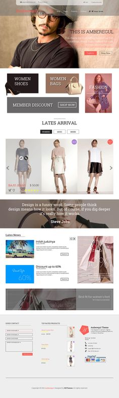 A list of 20 best free ecommerce web templates PSD released in This might give you an overview of trends in eCommerce websites Homepage Design, App Design, Free Web Page, Free Ecommerce, Templates, App Ui, Digital, Places, Models