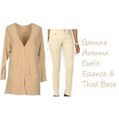 """Zyla Gamine Autumn: My Essence & Third Base"" by jeaninebyers on Polyvore"