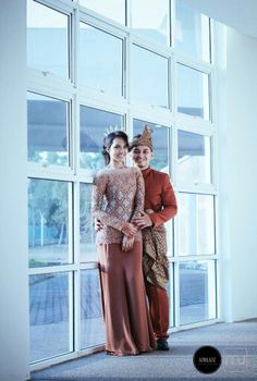 Songket wedding attire #malaywedding