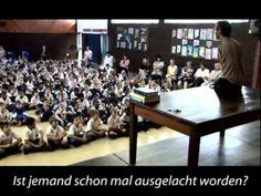 Nick Vujecic motivating young people, deutsche Untertitel