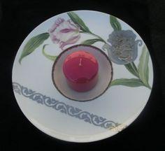 ensemble de diverses techniques sur assiette de dégustation en porcelaine