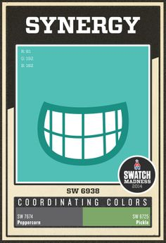 Sherwin-Williams blue paint color - Synergy (SW 6938)