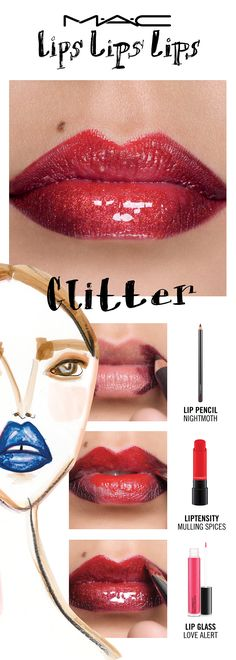 Put on the ritz...it's all about the glitz! Have a sparkle-fest with the flashiest of trends. Indulge your favourite fantasy with The No Place Like Home Glitter. Try a lip trend, then make it your own! Your choice. Your creation. Your trend.   Created by Senior Artist John Stapleton.