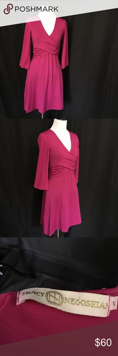 Tracy Negoshian Fuchsia Dress Details: New without tags Fuchsia Dress with one gold zippered pocket  Style: Narrow at waist and wider skirt. Slight hourglass shape.  Size: Small Brand: Tracy Negoshian  Condition: New without tags  Reasonable offers considered. For specifics please read closet information at the beginning of my closet.  Thank you! 🙂  Bundle and save! Discounts offered on orders including 3+ items. 🛒📦📭  Thank you for stopping by to check out my closet! 🤓 Tracy Negoshian…